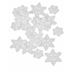 20 confettis de table flocons de neige La Reine des neiges