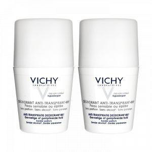Vichy Déodorant anti-transpirant 48H - Peau sensible ou epilée