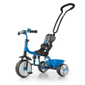Milly Mally Boby - Tricycle bébé enfant 18-36 mois avec repose-pieds