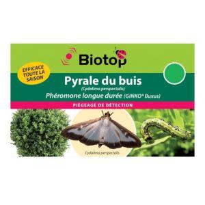 Image de Biotop Phéromone pyrale du buis LONGUE DUREE GINKO BUXUS