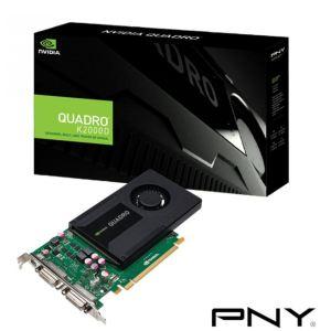 PNY VCQK2000DVI-PB - Carte graphique Quadro K2000D 2 Go GDDR5 PCI-E 2.0