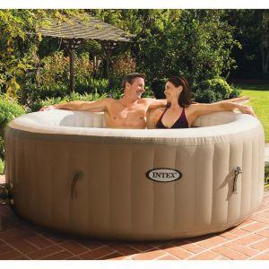 Intex PureSpa - Structure gonflable avec massage à bulles 28404NL 196x71cm