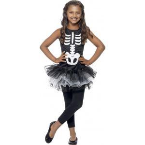 Déguisement squelette tutu fille Halloween (4-6 ans)