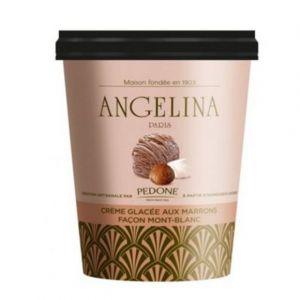 Angelina Crème glacée aux marrons façon Mont-blanc - Le pot de 500ml