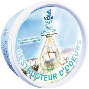 Boldair Gel destructeur d'odeur 300 g - Fleur de coton