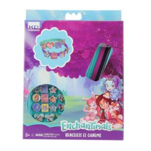 Taldec Kit créatif Enchantimals Bracelets et Charms
