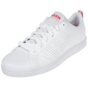 promo code 3bd00 0cc00 Adidas Vs Advantage Cl K, Chaussures de Running Mixte Enfant, Bianco, Blanc  (