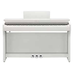 Yamaha CLP-625WH Clavinova digital piano, white