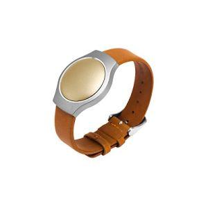 Misfit Bracelet cuir montre pour moniteur d'activité Shine