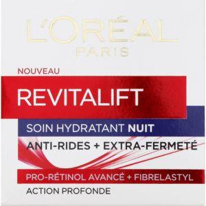 L'Oréal Revitalift Nuit Anti-ride, 40-60 ans 50ml