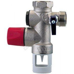 Watts Industries groupe de sécurité chauffe-eau 20x27 inox réf 52570