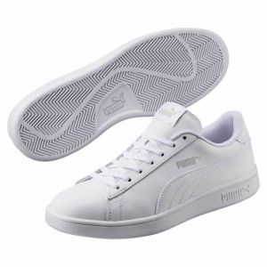 Puma Chaussures casual Smash v2 L Blanc - Taille 44