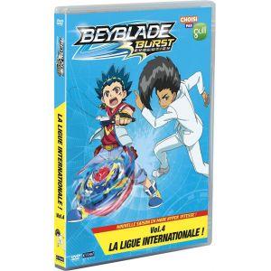 Beyblade Burst - Saison 2, Vol. 4 : La ligue internationale [DVD]