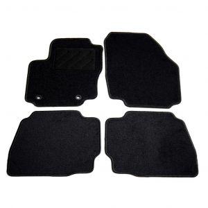 VidaXL Ensemble de tapis de voiture 4 pcs pour Ford Mondeo IV