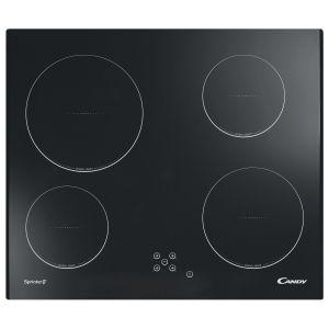 Candy CH64C2 - Table de cuisson vitrocéramique 4 foyers