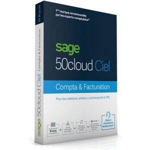 50c Ciel Compta + Facturation 30 jours PC [Windows]