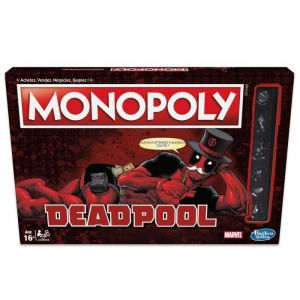 Hasbro Monopoly Marvel Heroes Deadpool