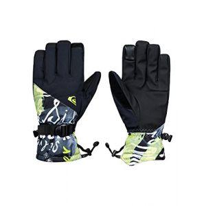 Quiksilver Mission Gants de Ski/Snowboard Homme Black_Construct FR : XL (Taille Fabricant : XL)