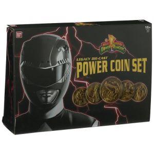 Bandai Power Ranger - Ensemble de 5 médaillons Legacy