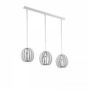Eglo Lampe suspendue COSSANO Blanc, 3 lumières - Moderne - Intérieur - COSSANO