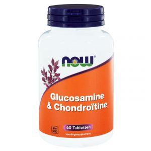 Now Foods Glucosamine & chondroïtine, 60 comprimés