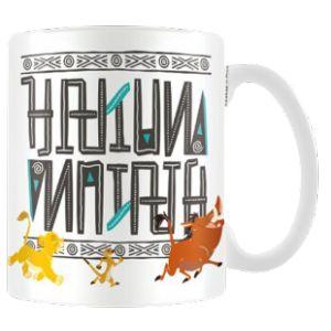 Mug en porcelaine Hakuna Matata Le Roi Lion