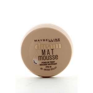 Maybelline Dream Mat Mousse 20 Beige Eclat - Fond de teint
