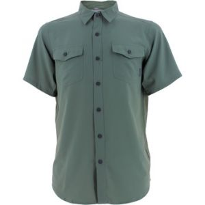 Columbia Chemise à Manches Courtes Homme, UTILZER II SOLID SHIRT SLEEVE SHIRT, Polyester, Noir (Abyss), Taille: S, AO9136