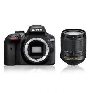 Nikon D3400 (avec objectif 18-105mm)