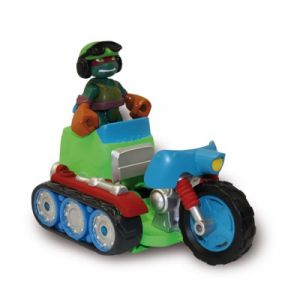 Giochi Preziosi Tread Cycle with Tank Commander Raphael - Figurine Tortues Ninja