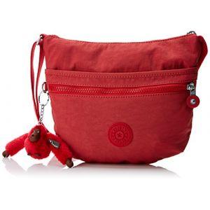 Kipling Arto S, Sacs bandoulière femme, Rouge (Spicy Red C), 15x24x45 cm (W x H x L)