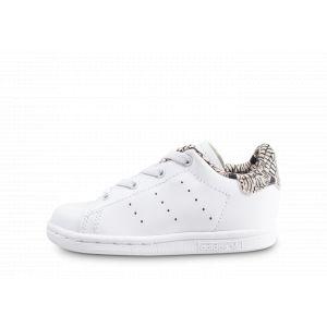Adidas Stan Smith Graphique Blanche Et Noire Bébé Tennis Bébé