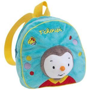 Jemini T'choupi sac a dos en peluche +/- 22 cm pour enfant