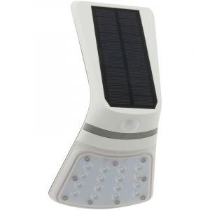 Elexity Applique solaire LED 2W 240 lumens avec détecteur de mouvement