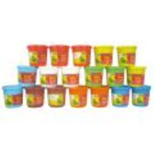 Giotto 18 pots de pâte à jouer (220 g)