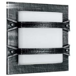 Albert Leuchten 606262 - Applique d'extérieur Annlin style rustique noir