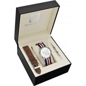 Pierre Lannier 376A129 - Coffret montre pour homme Quartz Chronographe