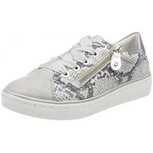 Remonte R5501, Sneakers Basses Femme, Argent (Silber/Grey/Argento), 39 EU