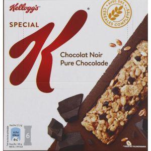 Kellogg's Spécial K - Barres de céréales au riz et blé complet aux pépites de chocolat