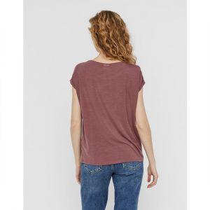 Vero Moda Aware T-shirt Women Purple; Red Rose Brown - Taille XS