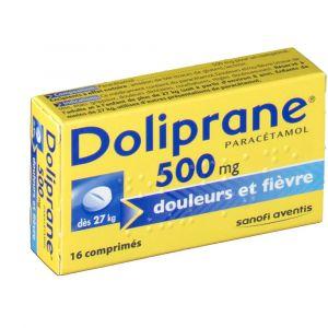Sanofi Doliprane 500 mg - 16 Comprimés