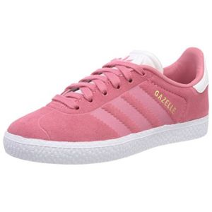 pretty nice c6e85 72eb4 Adidas Gazelle Enfant Rose Baskets Tennis Enfant