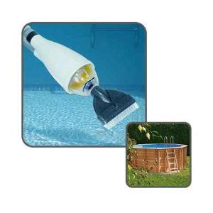 Linxor Balai aspirateur de piscine avec manche télescopique