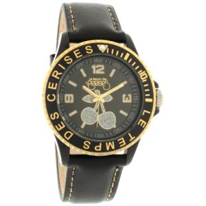 Le Temps des Cerises TC76 - Montre pour femme avec bracelet en cuir