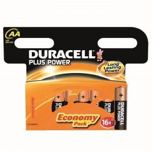 Duracell Piles plus power LR06 x16
