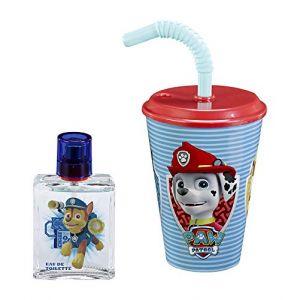 Cartoon Network Paw Patrol - Coffret eau de toilette, sac et verre