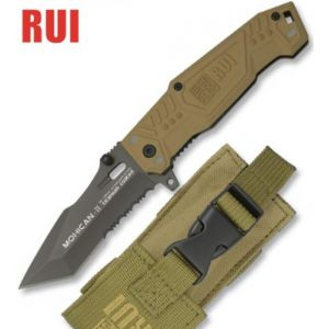 Zoom Couteau tactique TITANE 17,8cm coyote - RUI
