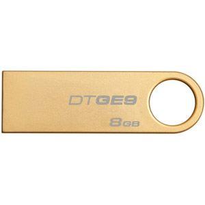 Kingston DTGE9/8GB - Clé USB 2.0 DataTraveler GE9 8 Go plaquée or