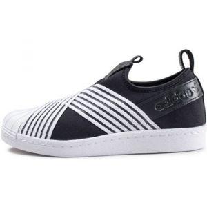 Adidas Superstar Slip-on Noir Et Blanc Femme Baskets/Tennis Femme