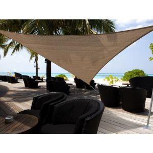 Morel VSA 555 - Voile d'ombrage triangulaire Austral 5 x 5 x 5 m - 180 g/m²